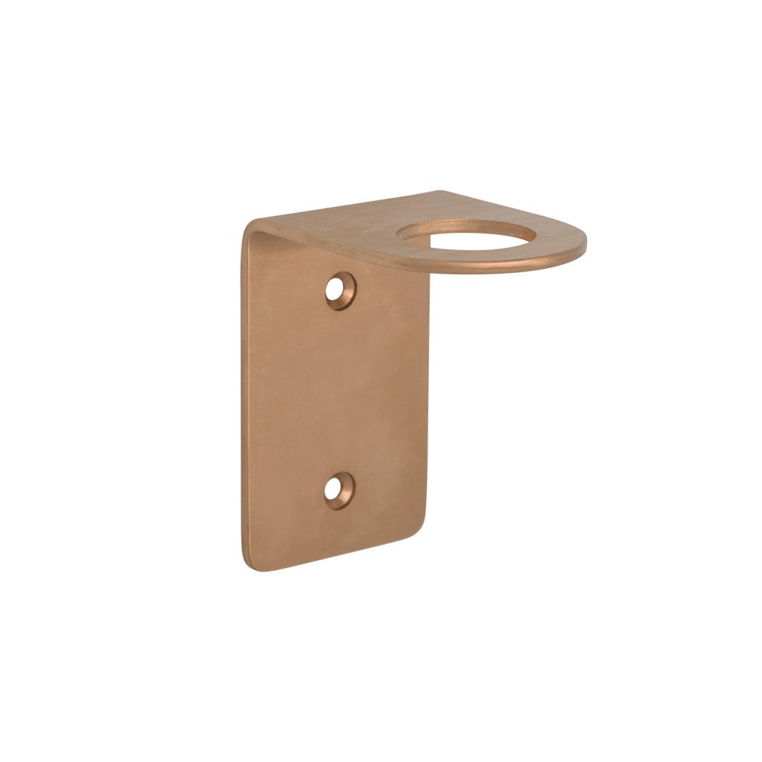 Lira Soap Bottle Holder – Brushed Copper