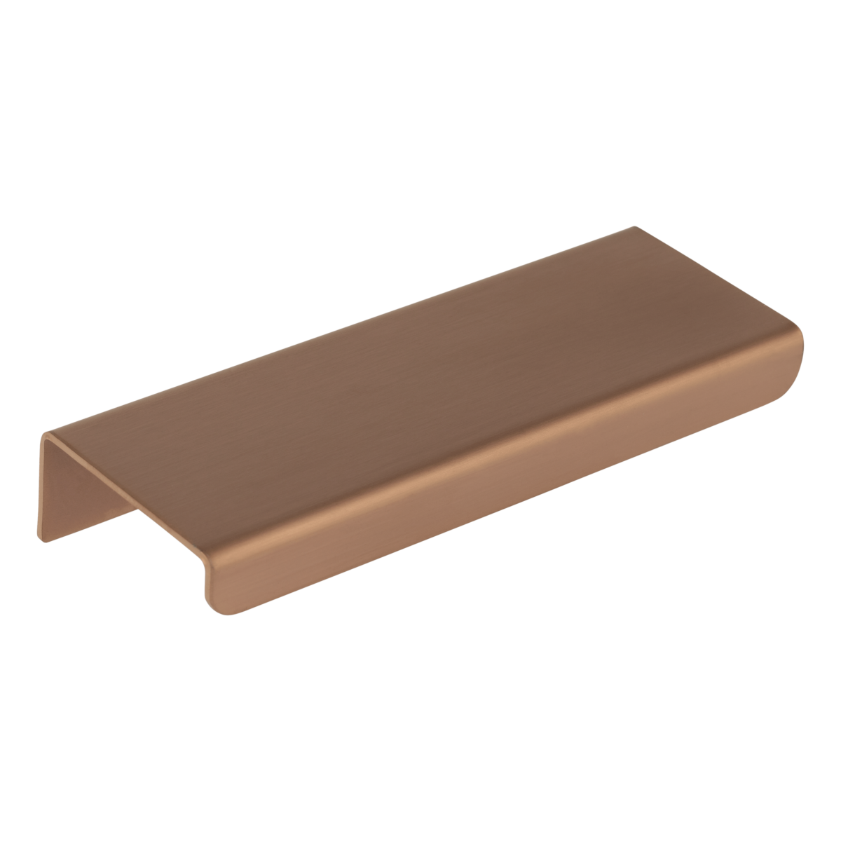 Rappana Cabinetry Pull Extended 100mm – Brushed Copper