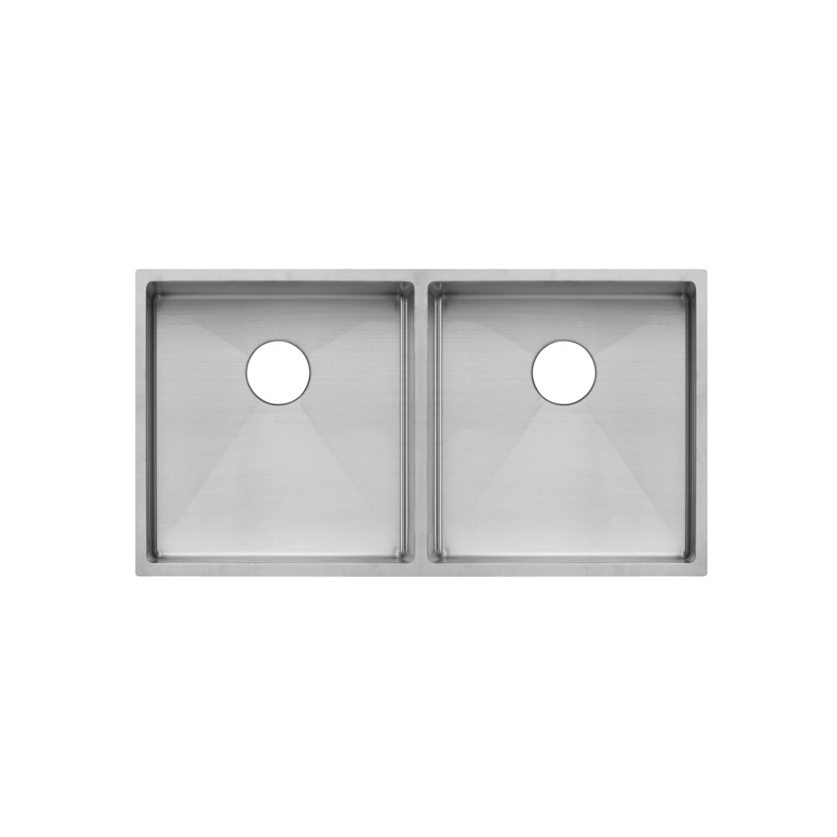 Zalo – Kitchen Sink Double 855mm – Stainless Steel (Racks/Overflow)